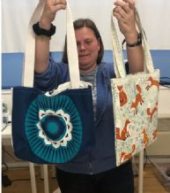 FULL /SOLD OUT Mothering Sunday 2 HOURS, 2 TEA-TOWELS, 2 BAGS WORKSHOP SUN 22ND MARCH